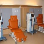 Salle de soins avec les Fauteuils Bionic