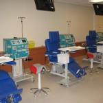 Salle de soins avec les fauteuils ComfortLine